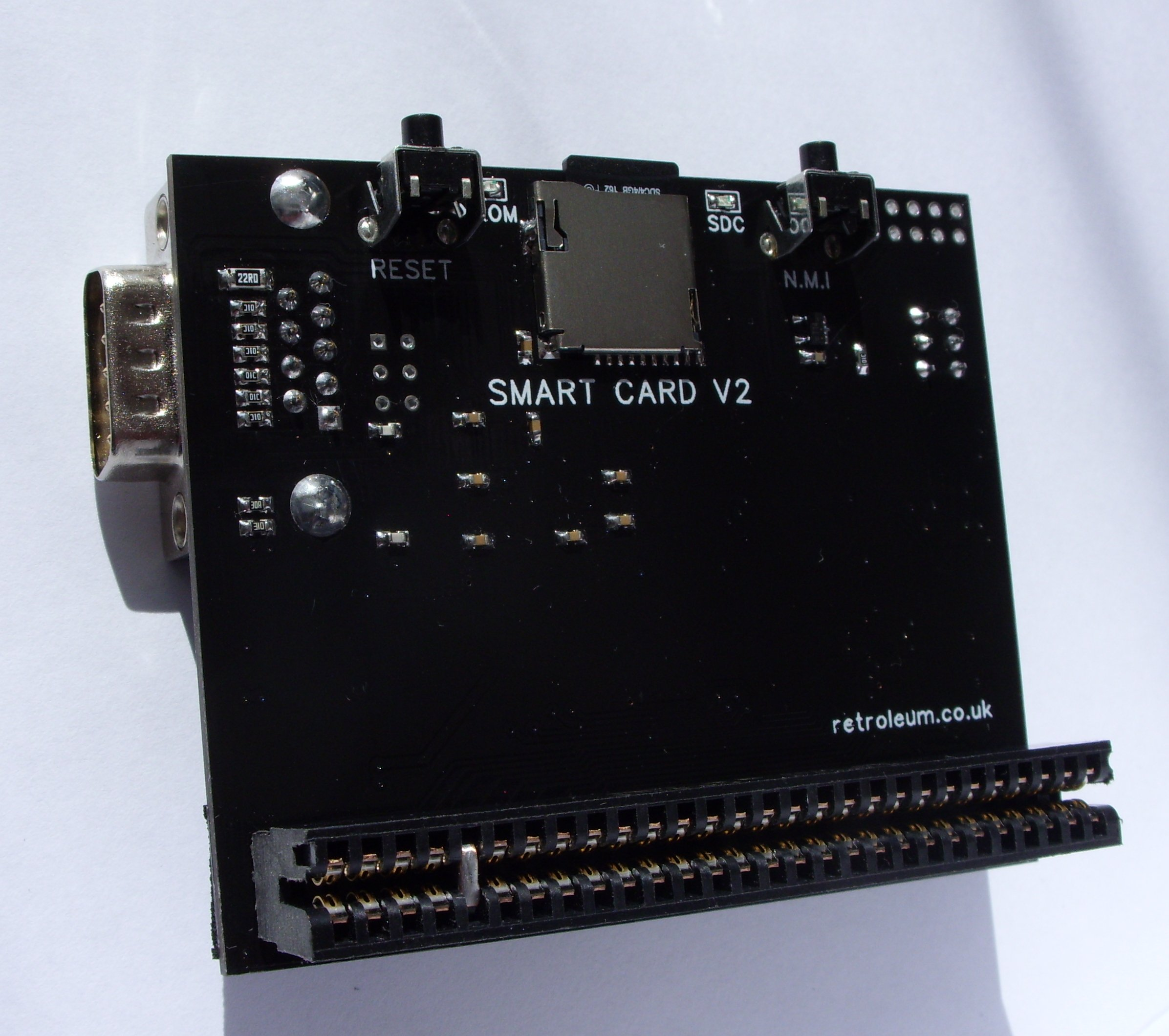 SMART card for ZX Spectrum @ Retroleum